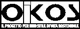 logo Oikos bianco